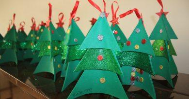 Oficina de Natal acontece de 16 de setembro a 29 de novembro, na sede. Uma ação sustentável!