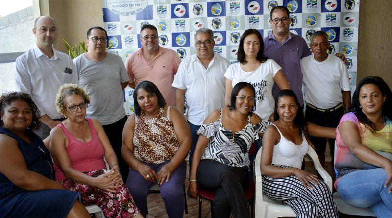 Sindicato reúne diretoria para trazer informações de acesso ao novo site e redes sociais
