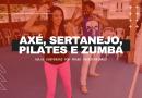 Aulas de Axé, Pilates, Sertanejo e Zumba estão suspensas por prazo indeterminado