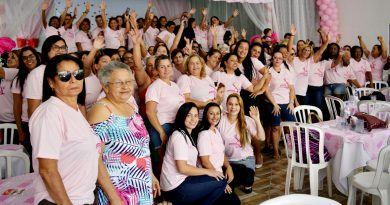 4° Encontro das Mulheres é sucesso. Mais um evento que ficará marcado na história