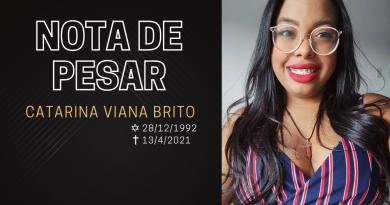 NOTA DE PESAR | Catarina Viana Brito, com apenas 28 anos, nos deixa por complicações da Covid-19