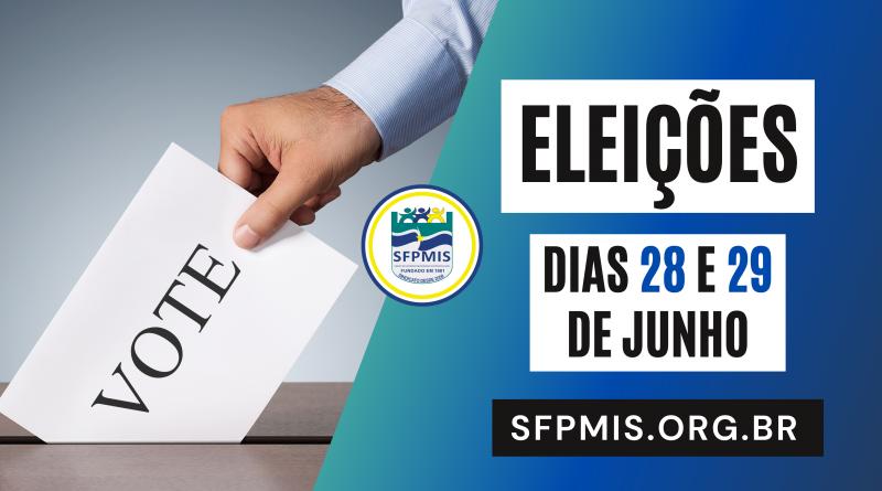 Dias 28 e 29 de junho teremos a eleição da nova diretoria do Sindicato dos Servidores